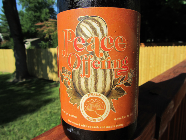 St. Louis craft beer Peace Offering