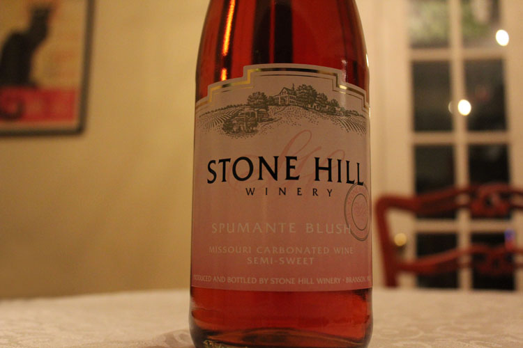 Stone Hill Winery Spumante Blush
