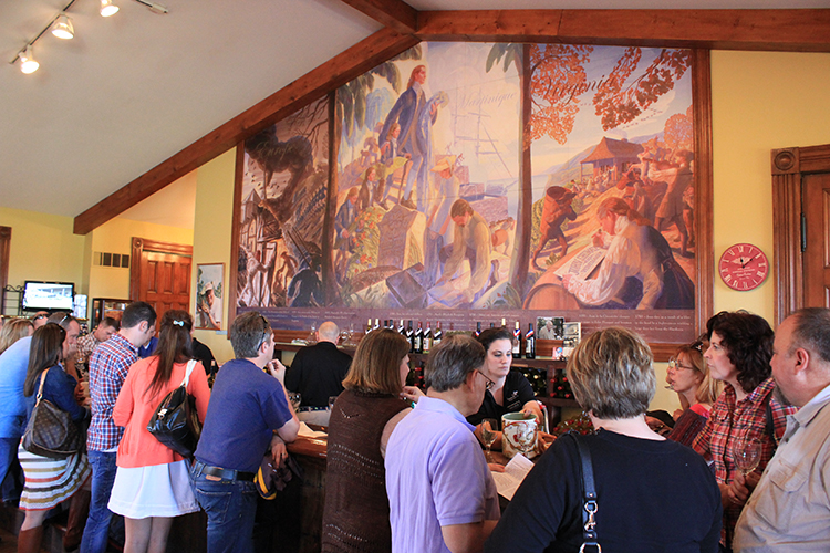 Chaumette Winery Mural