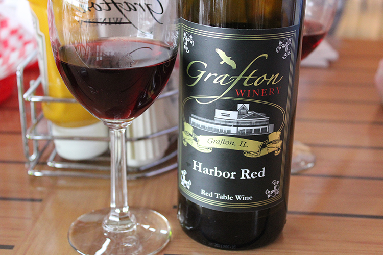 Grafton Winery's Harbor Red