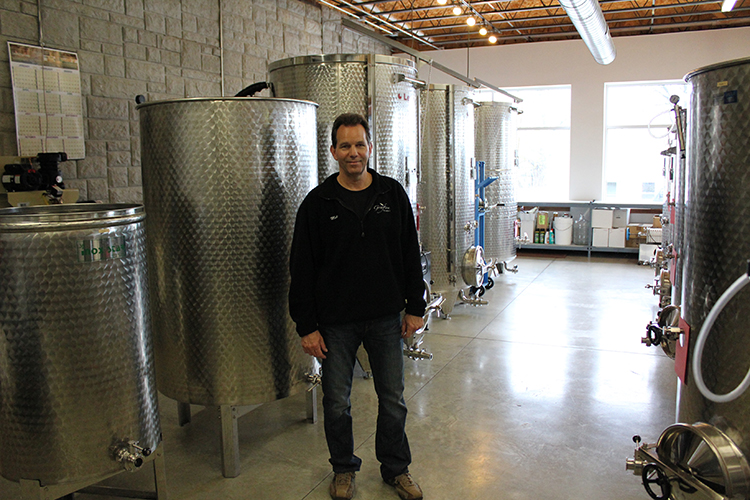 Owner of Grafton Winery, Mike Nikonovich