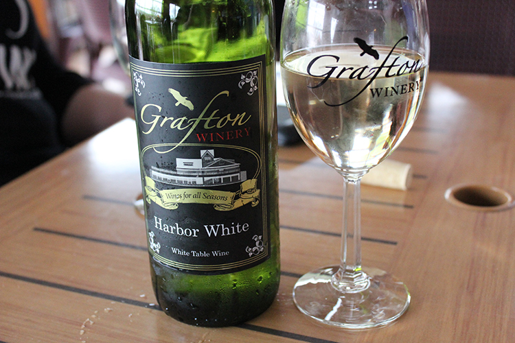 Grafton Winery's Harbor White